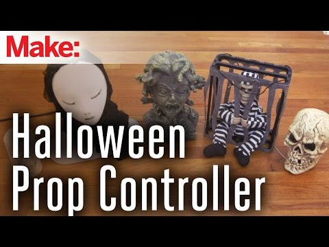 props - I worked out a system that lets you control all your animated Halloween props with a single microcontroller (such as an Arduino). This lets you exactly choreograph how and when each prop will...