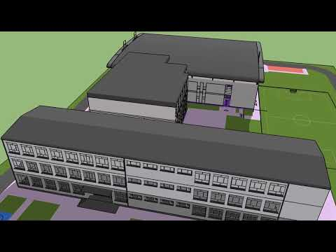Trwają prace nad projektem nowej hali sportowej przy SP nr 2 w Kartuzach