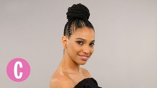 Stasha Harris works her magic with this beautiful braided undo.SUBSCRIBE to Cosmopolitan: http://bit.ly/SUBSCRIBEtoCOSMOCosmopolitan Official Site: http://Cosmopolitan.com Cosmopolitan on FACEBOOK: http://bit.ly/CosmoFBCosmopolitan on TWITTER: http://bit.ly/CosmoTwitterCosmopolitan on GOOGLE+: http://bit.ly/CosmoGoogleCosmopolitan on PINTEREST: http://bit.ly/CosmoPinsCosmopolitan on INSTAGRAM: http://bit.ly/CosmoInsta