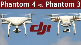Today we'll compare the DJI Phantom 4 (http://goo.gl/15gNro) with the DJI Phantom 3 Professional (http://goo.gl/92TKY6). What are the differences? Range ...