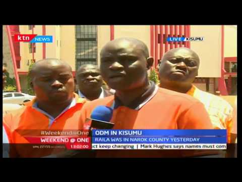 Weekend @ One: ODM delegates meet in Kisumu for a rally ,1/10/2016