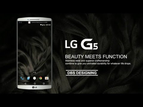 LG G5 fan concept by DBS Designing