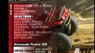 2. ATV Television QuickTest - 2004 Kawasaki Prairie 360 4x4
