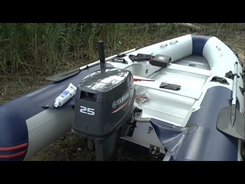 видео замена масла лодочного мотора ямаха