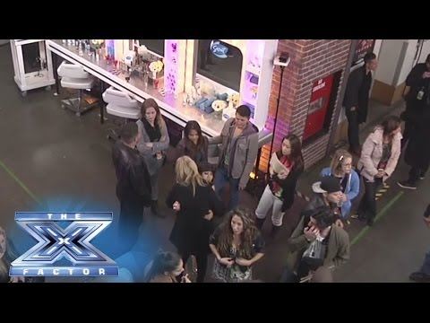 (Live - See all of the live backstage action at THE X FACTOR! Want to see more? Discover more cameras and angles at http://www.thexfactorusa.com/liveview and by down...