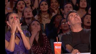 Circus Performer Makes Everyone Go CRAZY | Week 4 | America's Got Talent 2017