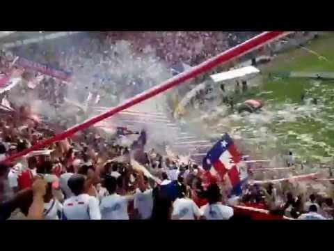 Recibimiento al Club Olimpia [Ultra fiel/ 4 de mayo 2014] - La Ultra Fiel - Club Deportivo Olimpia