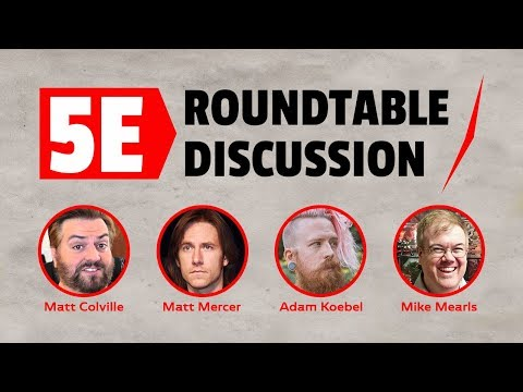 RollPlay Presents: A 5E Roundtable Discussion (EP1)