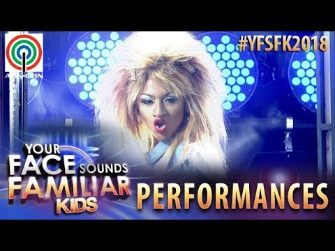 Your Face Sounds Familiar Kids 2018: Noel Comia Jr. as Tina Turner | What's Love Got To Do With It (видео)