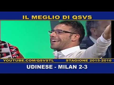 qsvs - i gol di udinese-milan 2-3