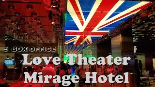 Video The Beatles Love Theater Entrance..Mirage Hotel Las Vegas MP3, 3GP, MP4, WEBM, AVI, FLV Juni 2018