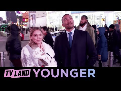 Kelsey & Zane's Times Square Night Out | Younger (Season 5) | TV Land