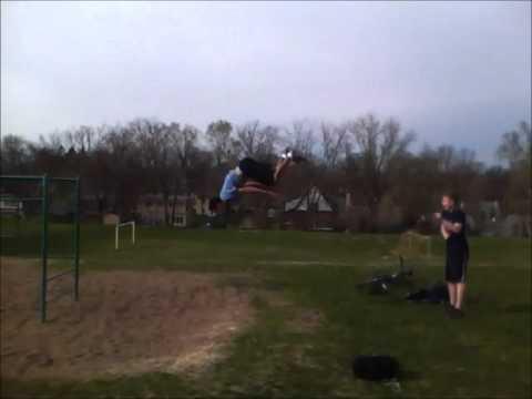 Back Flip Leg Catch