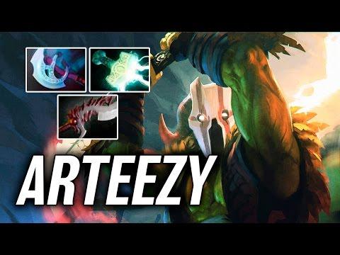 Arteezy • Juggernaut — Pro MMR