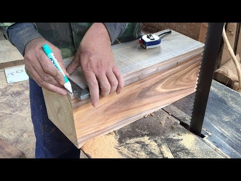 Amazing Skills Woodworking Extremely High Technical To Create Masterpiece Hand-Crafted, How To, DIY