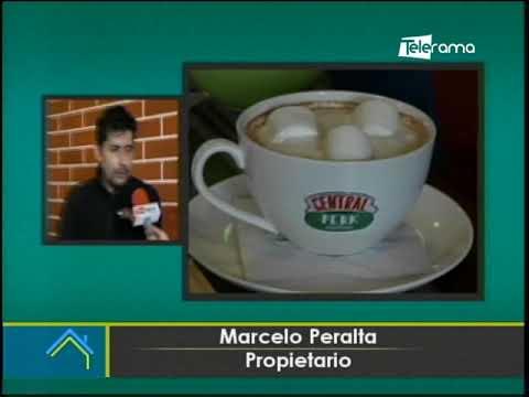 Cafetería en Cuenca inspirada en Central Perk Coffee de la serie Friends