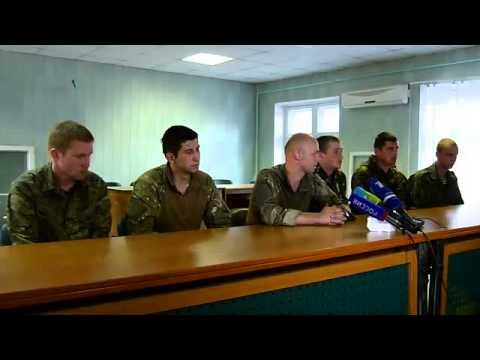 Допрос пленных военных Украины российскими журналистами (видео)