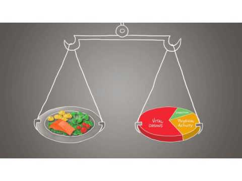 Eduational video about Energy Balance/ Energy from Food- Intake and How to Read a Nutritional label
