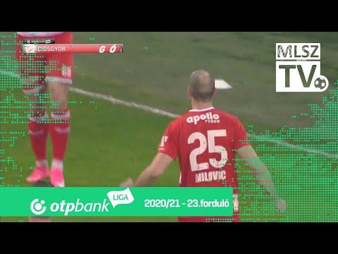 Goran Milović gólja (DVTK - Mezőkövesd, 23. forduló)