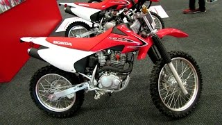 8. 2014 Honda CRF 230F Walkaround - 2014 Montreal Motorcycle Show