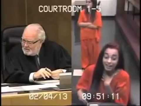 Watch Now: Girl Got What She Deserves From Mouthing Off To the Judge