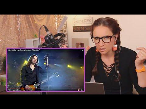 Vocal Coach Reacts to Alter Bridge - Blackbird- live
