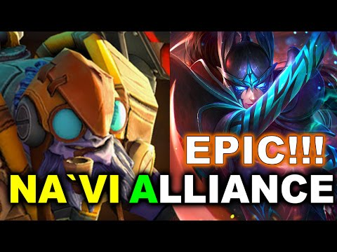NAVI vs ALLIANCE - EPIC 109 MIN! EL CLASICO!!! - SUMMIT 7 DOTA 2