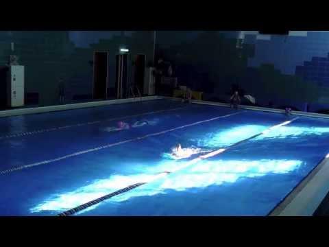 Ноги баттерфляй на уроках по плаванию