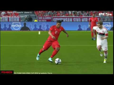 [PES 2016] Hanoi Squad vs GameTV | War Team | 2/8/2016