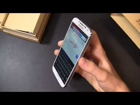 Verizon - Verizon Samsung Galaxy S 4 Unboxing Aaron unboxes the Verizon Galaxy S 4. It's packing the usual 1.9 GHz quad-core Snapdragon 600 CPU, along with the 5-inch ...