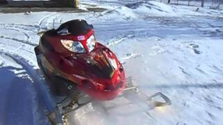1. 2004 Arctic Cat Firecat F5