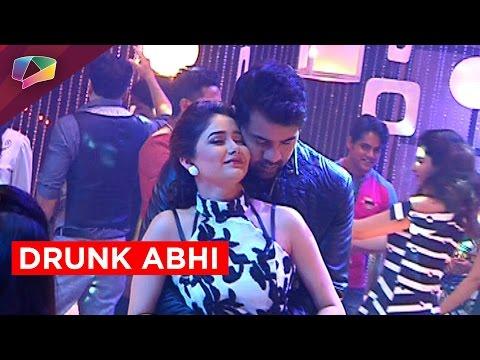 Abhi gets drunk in Kumkum Bhagya