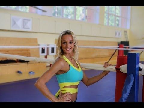 Оксана Яшанькина - Тренировка пресса (видео)