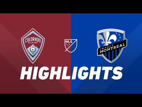 Video: Colorado Rapids vs. Montreal Impact | HIGHLIGHTS - August 3, 2019