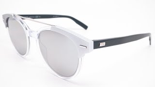 Buy them here : https://goo.gl/oZvY3aClose up look at the Dior Blacktie 220S sunglasses in color T6ESS, crystal black with silver lenses.Connect with usWebsite :  www.eyeheartshades.comFacebook : https://www.facebook.com/eyeheartshadesTwitter : https://twitter.com/eyeheartshadesInstagram : https://www.instagram.com/eyeheartshades/Pinterest : https://www.pinterest.com/eyeheartshades/Google Plus : https://plus.google.com/+EyeHeartShades/posts