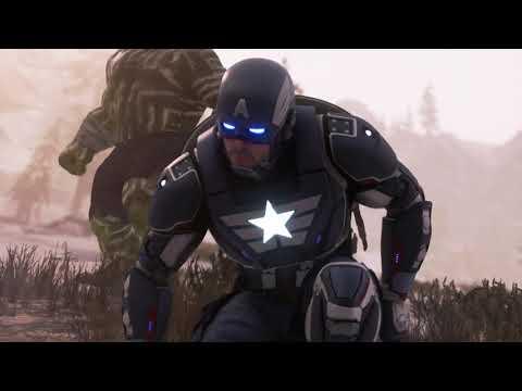 Marvel's Avengers - Last Avenger Standing: 14 Floor Elite Heroic Hive 100% Clear (Captain America)