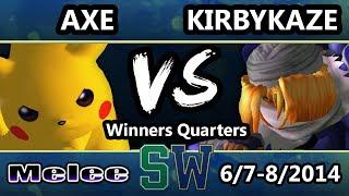 Melee Sets: Axe (Pikachu) vs KirbyKaze (Sheik) – GIFS INSIDE!