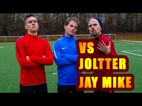 PENALTY CHALLENGE vs JOLTTER and JAY MIKE (видео)