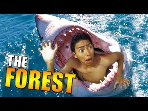 ALIMENTO PARA TIBURONES !! - The Forest