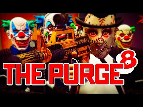 GTA 5 ONLINE - THE PURGE SEASON 3 PART 8 🤡🔥