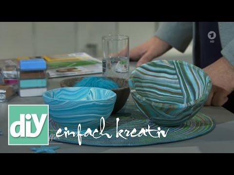Deko-Schale aus Modelliermasse | DIY einfach kreativ