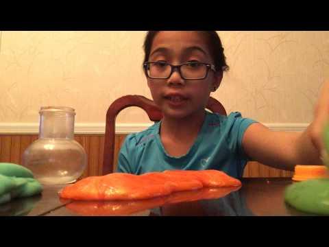 2014 Halloween Slime + Slime Comparison (видео)