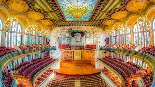 The Palau de la Música Catalana is a concert hall in Barcelona, Catalonia, Spain. Designed in the Catalan modernista style by...