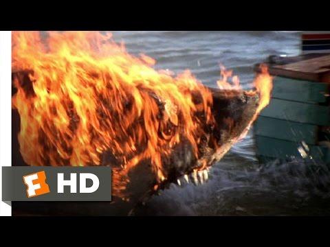 Jaws 2 (1/9) Movie CLIP - Water Ski Attack (1978) HD (видео)