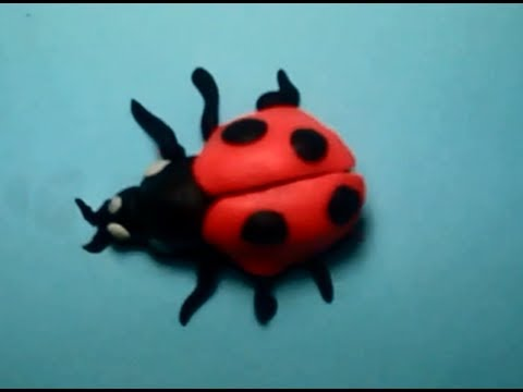 How to make Play-Doh ladybug