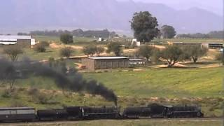 Klawer South Africa  City pictures : South African Railway 19D 3323 3334 Klawer to Moorreesburg