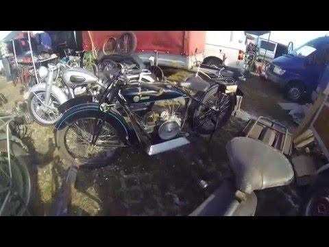 Veterama Motorradteile Wanderer Motorrad