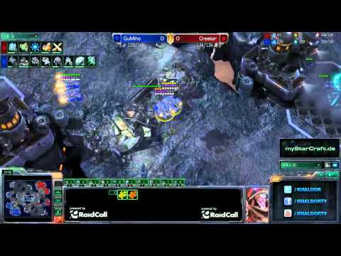 RO16 GuMiho (T) vs Creator (P) - Game 1