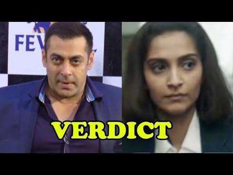 Salman Khan's VERDICT On Sonam Kapoor's Neerja!