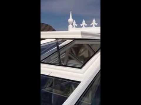 Conservatory with Automatic Opener
